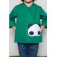 Tablier mixte Petit panda - Vert