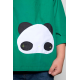 Tablier enfant mixte Petit panda - Vert