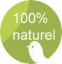 Tous les matériaux ou matières utilisés sont naturels