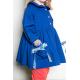 Blouse fille Petite Princesse - Bleu électrique
