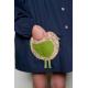 Blouse fille Little Birdy - Bleu Marine