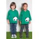 Blouse école mixte Petit panda - Vert