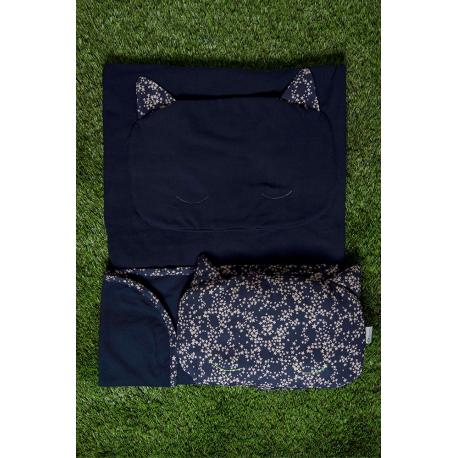 Kit couverture et oreiller – Bleu marine