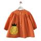 Blouse fille Ananas - Mandarine