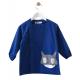 Tablier scoalire pour enfant Super héros - Bleu électrique