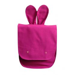 Sac à dos Bunny – Rose pivoine