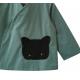 Blouse école mixte Petit chat - Jaune