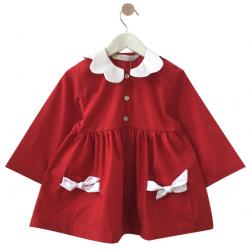 Blouse fille Petite Princesse - Rouge