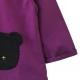 Tablier ecole mixte Mister Ours - Violet