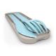 Petite-section-Mon Bento-Set de couverts biodégradables pour enfant-Bleu Iceberg