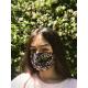Masque Barrière Junior (6 à 12 ans) - etoiles / bleu