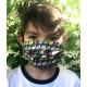 Masque Barrière Junior (6 à 12 ans) - lapin / bleu