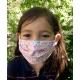 Masque Barrière Junior (7 à 12 ans) - liberty rose