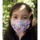 Masque Barrière Junior (7 à 12 ans) - lapin / rose