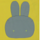 Blouse école mixte lapin jaune - Jaune
