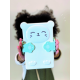 Bento Panda Hug Me - Bleu