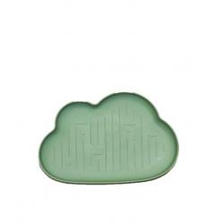 Assiette enfant Nuage - Vert pistache