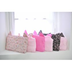 Kit couverture et oreiller – Rose