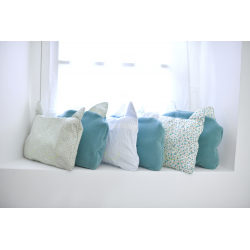 Kit couverture et oreiller – Vert