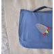 Cartable Petite section à personnaliser-Bleu riverside